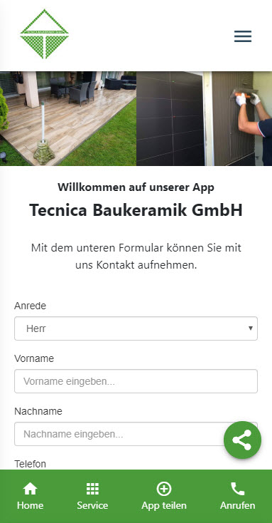 Unsere App